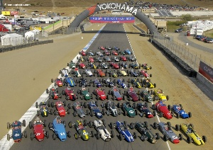 Anticipation Building for Rolex Monterey Historic Automobile Races