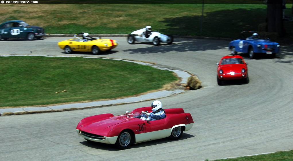 1955 abarth 207a at the pittsburgh vintage grand prix