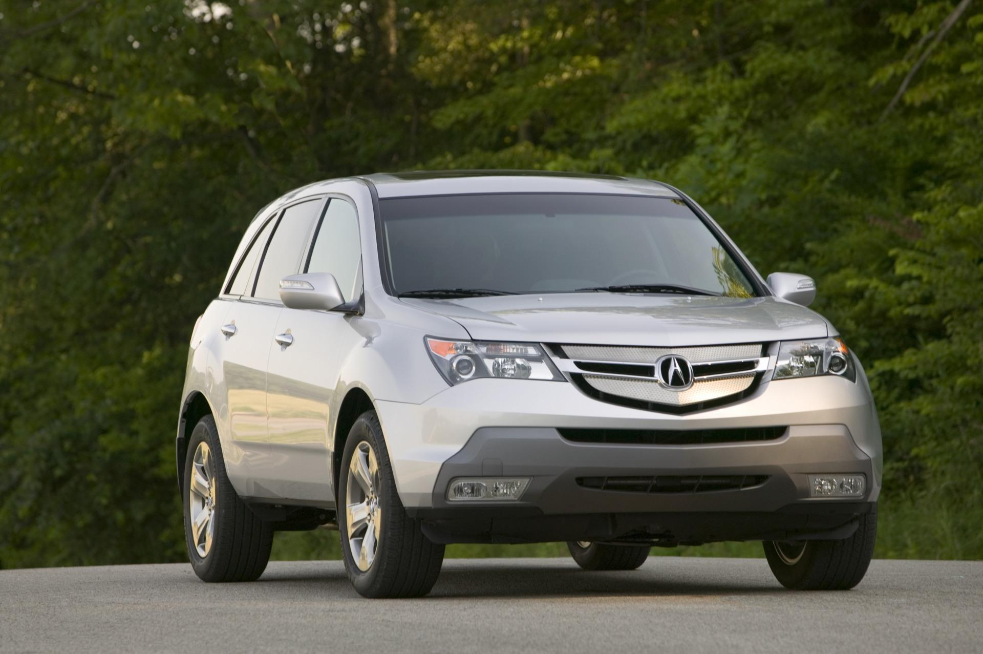 2009 acura mdx technical specifications and data engine