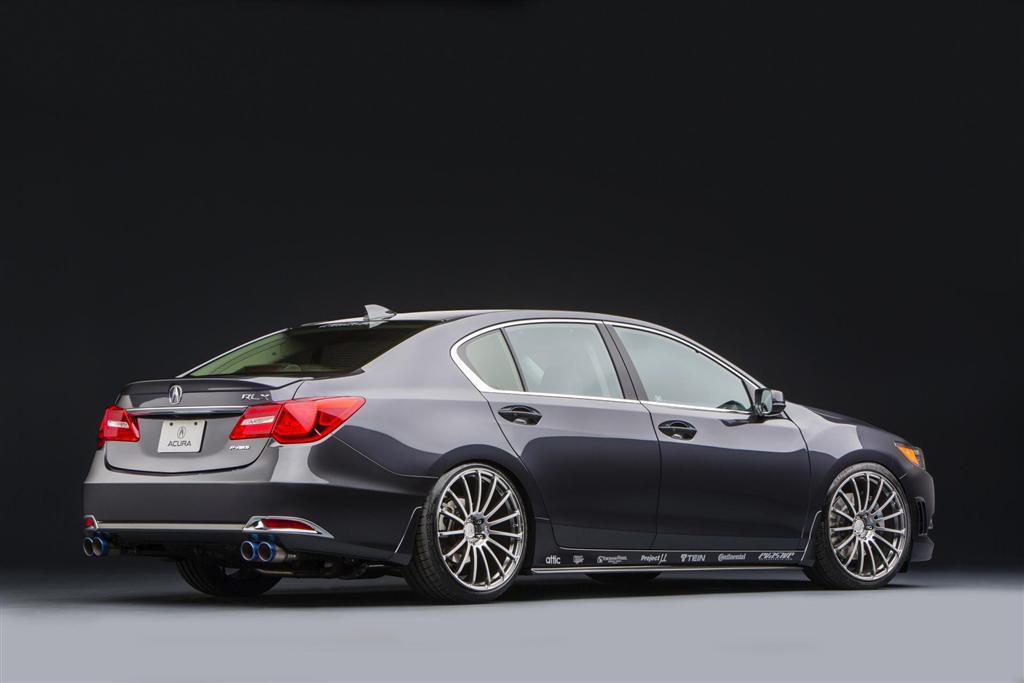 Acura Rlx Vip Sedan Conceptcarz Com