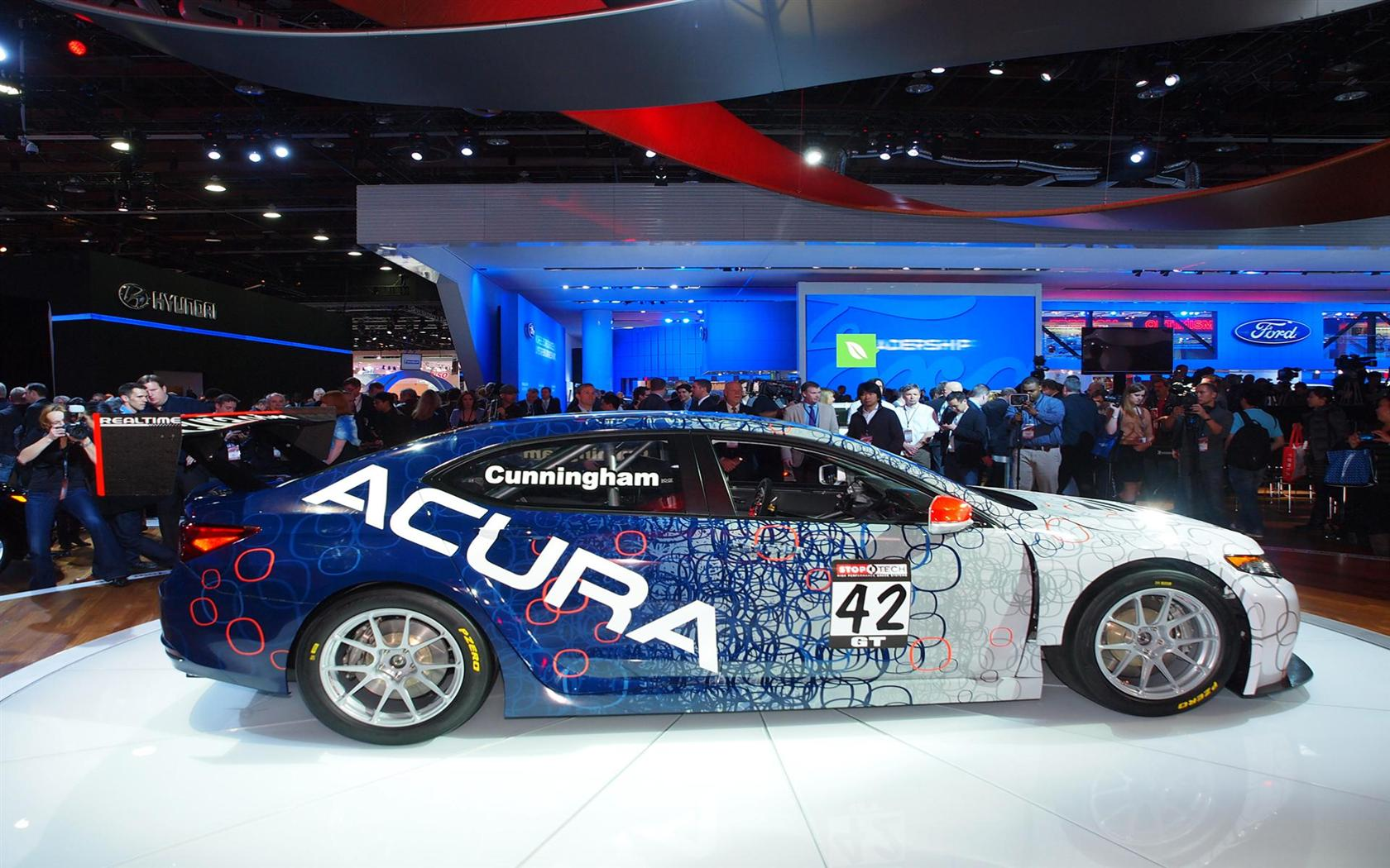 Acura TLX GT Race Car Images. Photo: acura-TLX_GT_Racer-NAIAS_2014 ...