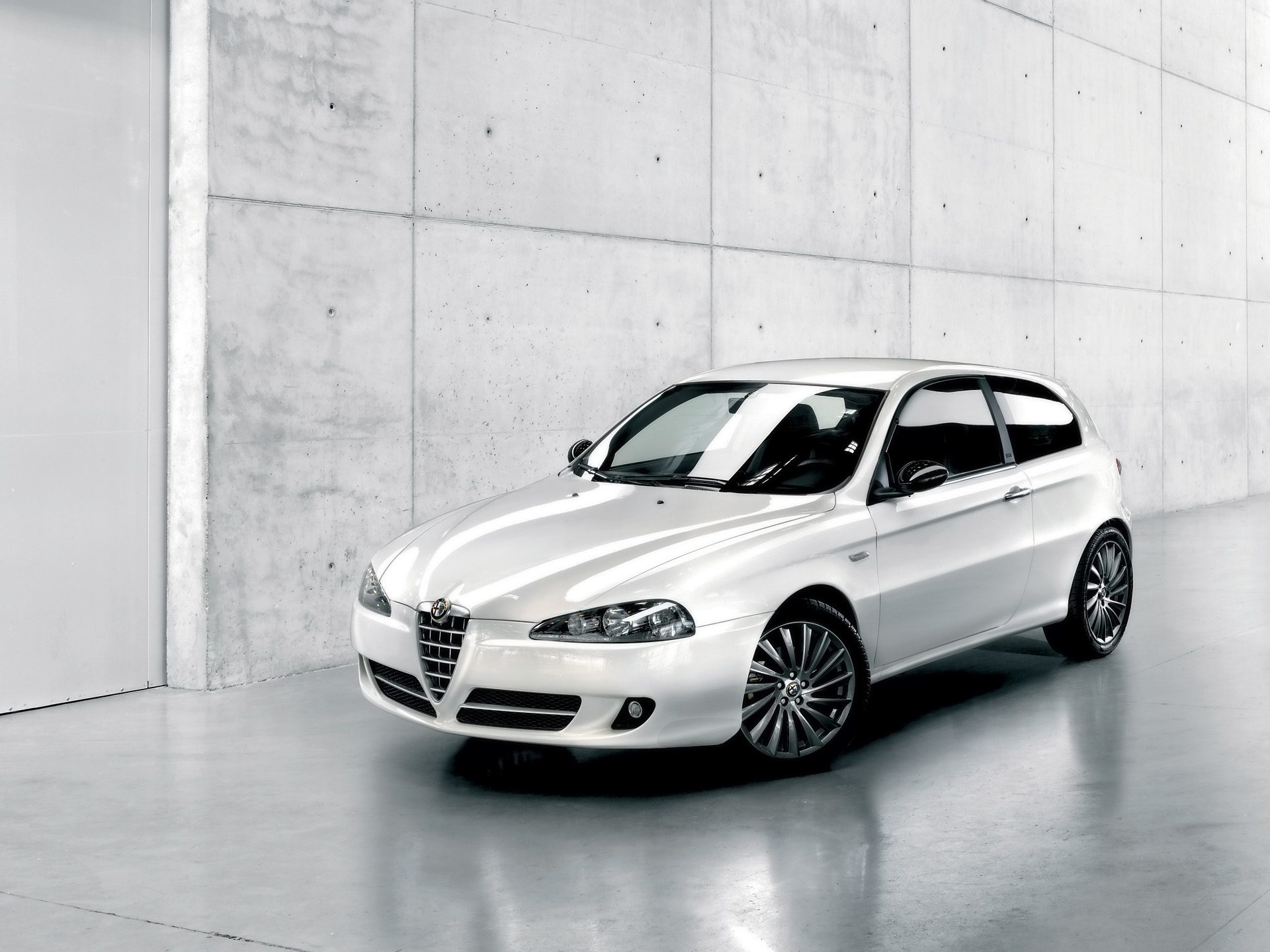 alfa romeo 147 white - photo #38