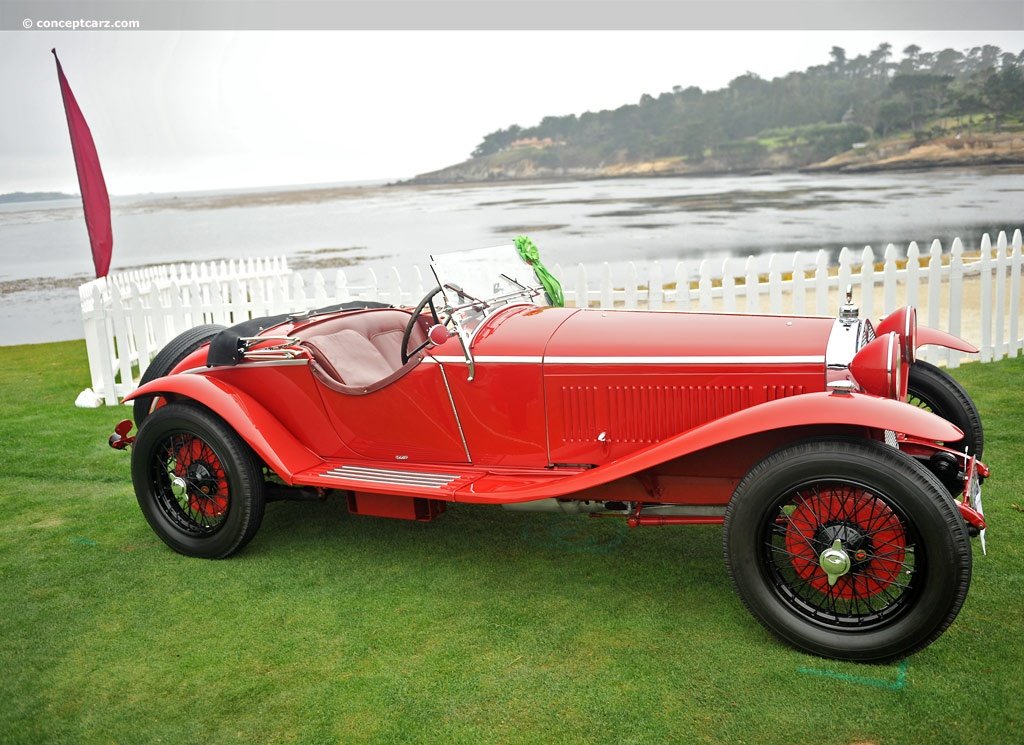 1929 Alfa Romeo 6C 1750 at the Pebble Beach Concours d ...