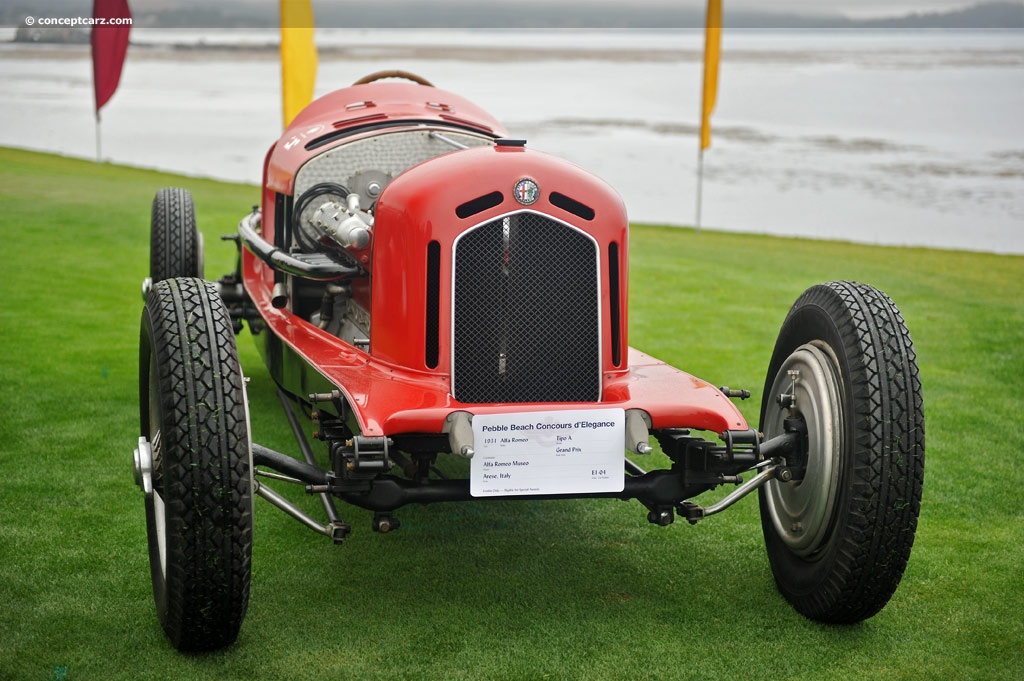 1931 Alfa Romeo Tipo A photo on pandion pebble beach