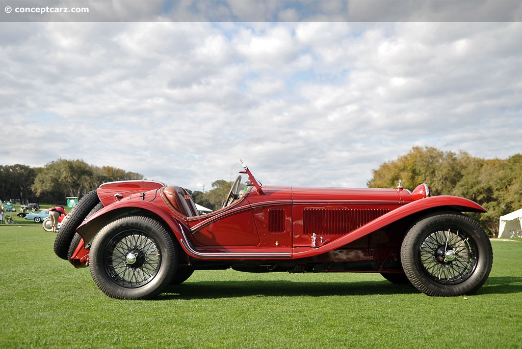 Alfa Romeo 8C 2300 pictures and wallpaper