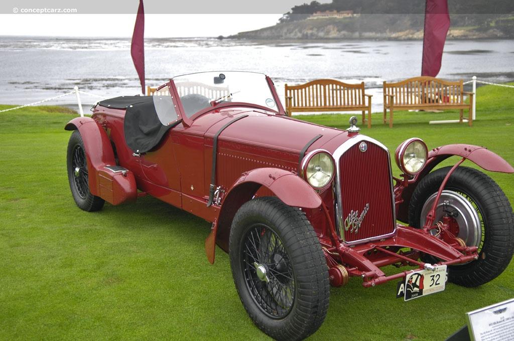 1932 Alfa Romeo 8c 2300 Corto Corsa Zagato Monza Mm | 2016 ...