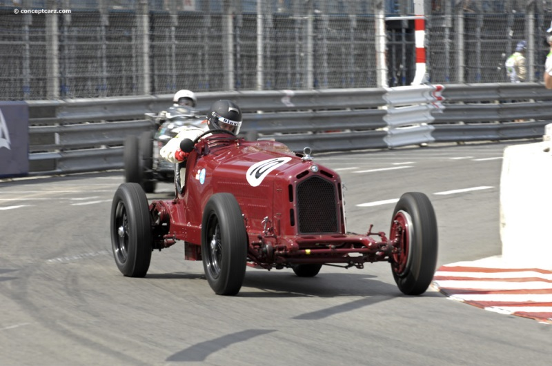 1932 alfa romeo 8c 2300 at the 8th grand prix de monaco historique. Black Bedroom Furniture Sets. Home Design Ideas