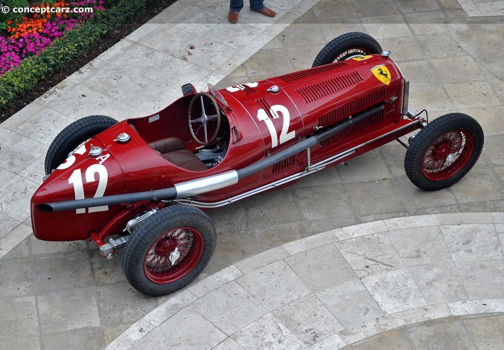 1934 Alfa Romeo Tipo B P3 Conceptcarz Com