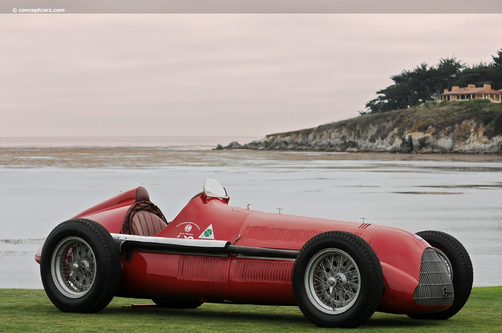 Alfa Romeo Disco Volante Price >> 1938 Alfa Romeo Tipo 158 Alfetta at the Pebble Beach Concours d'Elegance