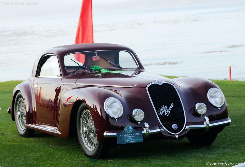 1939 alfa romeo 6c 2500 at the pebble beach concours d 39 elegance. Black Bedroom Furniture Sets. Home Design Ideas
