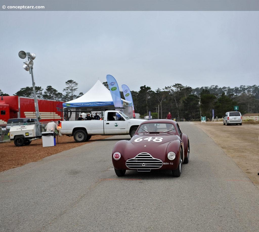 1948 Alfa Romeo 6C 2500 At The Pebble Beach Concours D