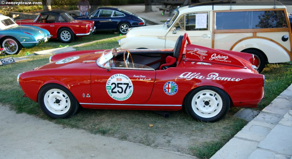 1957 Alfa Romeo Giulietta At The Monterey Sports And Classic Car Auction