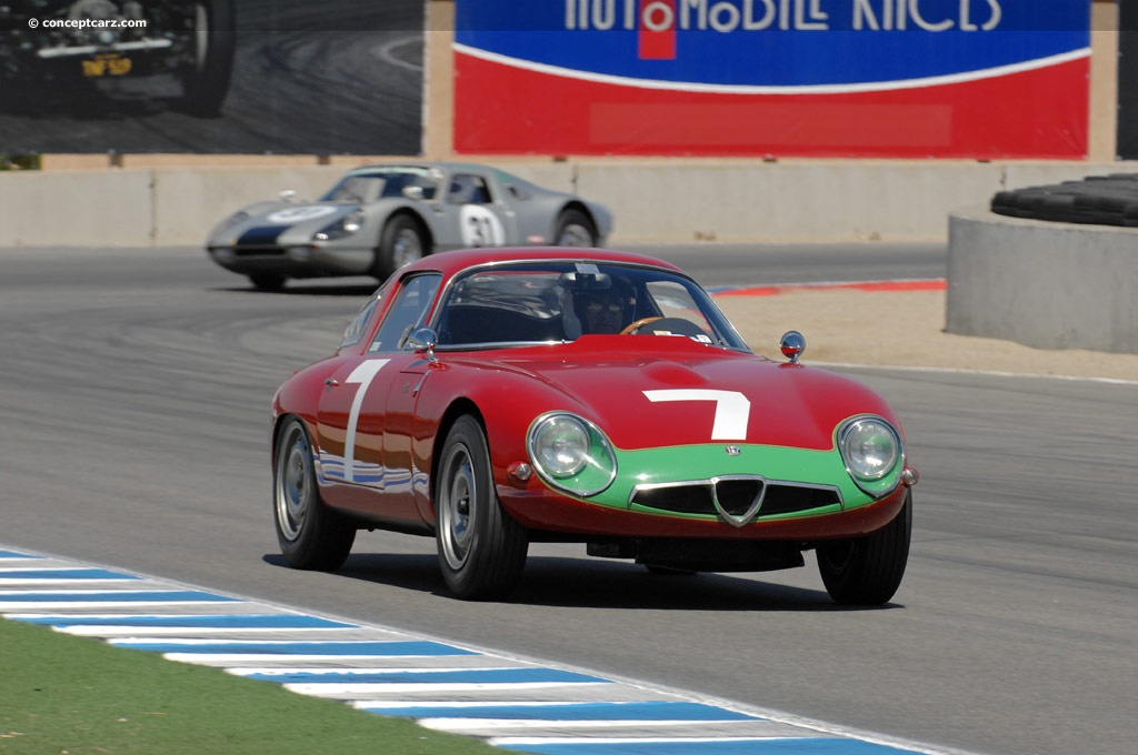 Alfa Romeo TZ-1 pictures and wallpaper