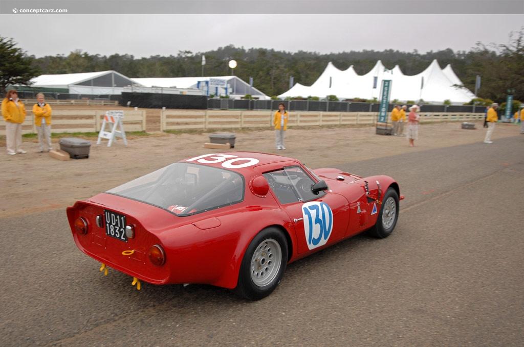 1965 Alfa Romeo Giulia TZ2  conceptcarzcom