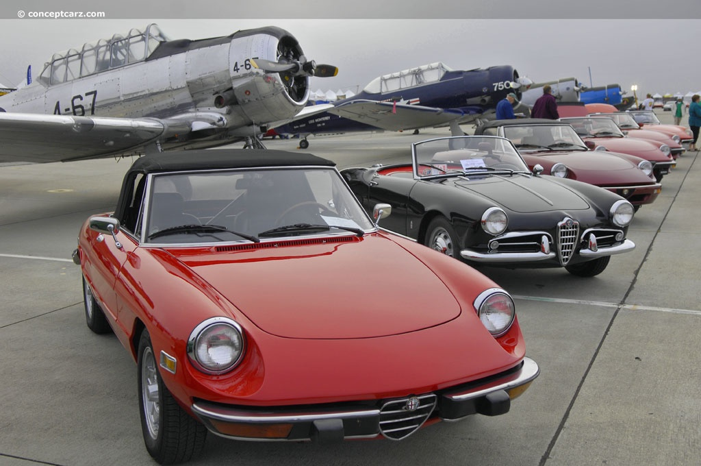 Auction results and data for 1973 Alfa Romeo Spider Veloce