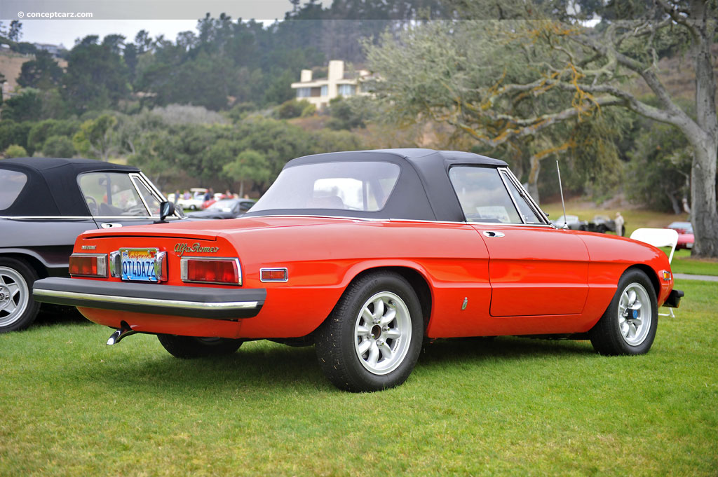 auction results and data for 1976 alfa romeo spider veloce. Black Bedroom Furniture Sets. Home Design Ideas