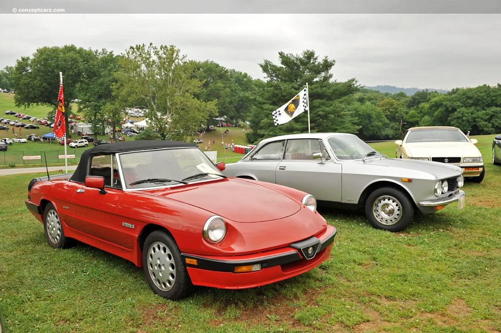 Alfa Romeo 1988 Quadrifoglio Spider Black 39000 Miles - Forza  |1988 Alfa Romeo Quadrifoglio