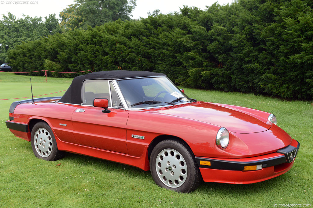 1988 Alfa Romeo Spider for sale #2259016 - Hemmings Motor News  |1988 Alfa Romeo Quadrifoglio