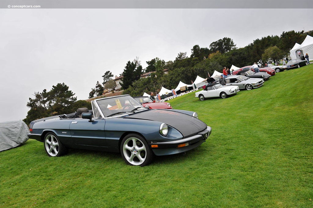 auction results and data for 1989 alfa romeo spider veloce. Black Bedroom Furniture Sets. Home Design Ideas