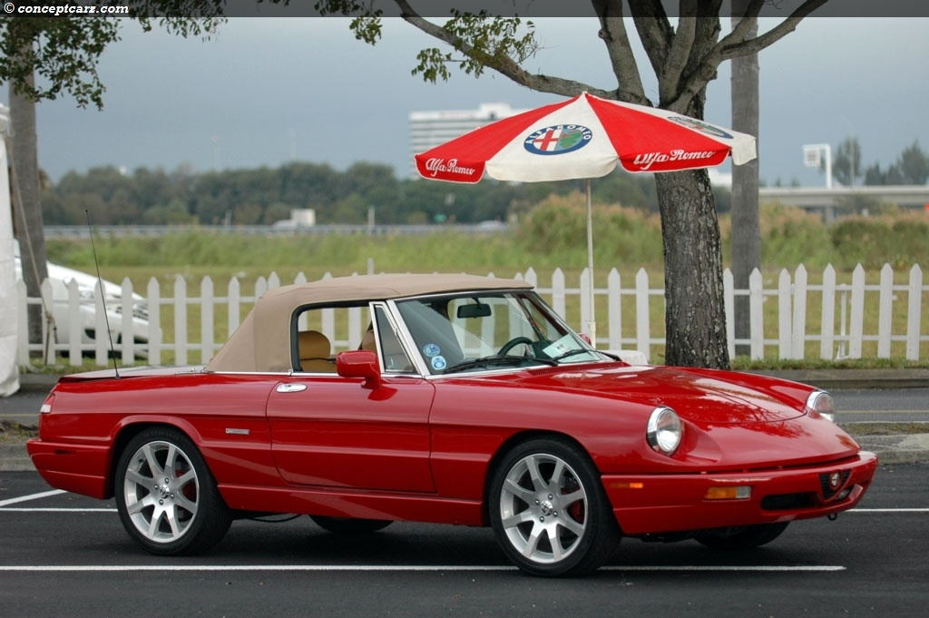 1991 Alfa Romeo Spider Images. Photo 91-Alfa_Spider_DV-08_SC_01.jpg