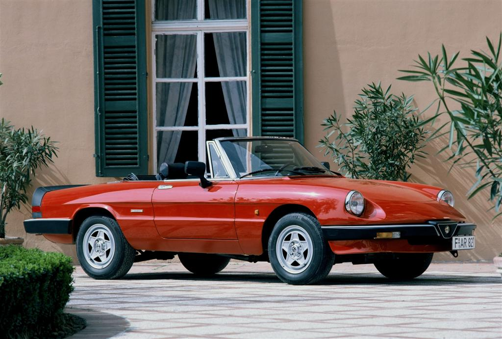 1984 alfa romeo spider veloce pictures history value. Black Bedroom Furniture Sets. Home Design Ideas
