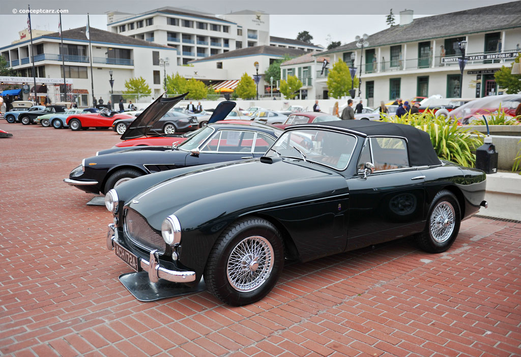 auction results and data for 1958 aston martin db2 4 mk iii. Black Bedroom Furniture Sets. Home Design Ideas