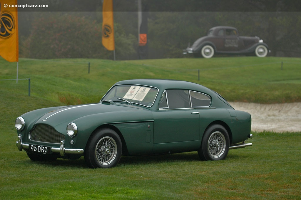 1958 aston martin db2 4 mk iii pictures history value research news. Black Bedroom Furniture Sets. Home Design Ideas