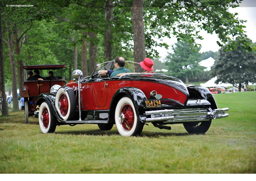 1929 Auburn 8-120 At The Concours D'Elegance Of America At