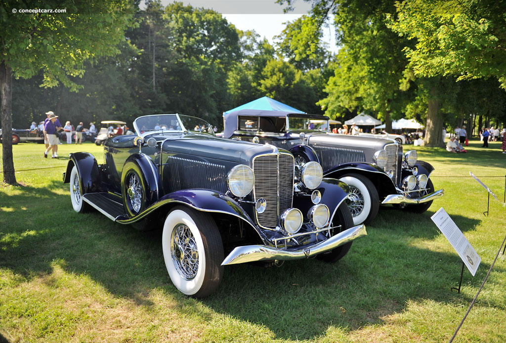 1933 Auburn Model 12-165 At The Concours D'Elegance Of