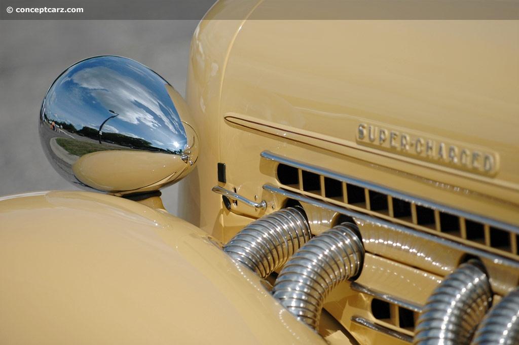 1935 Auburn 851 At The Vintage Motor Cars Of Meadow Brook