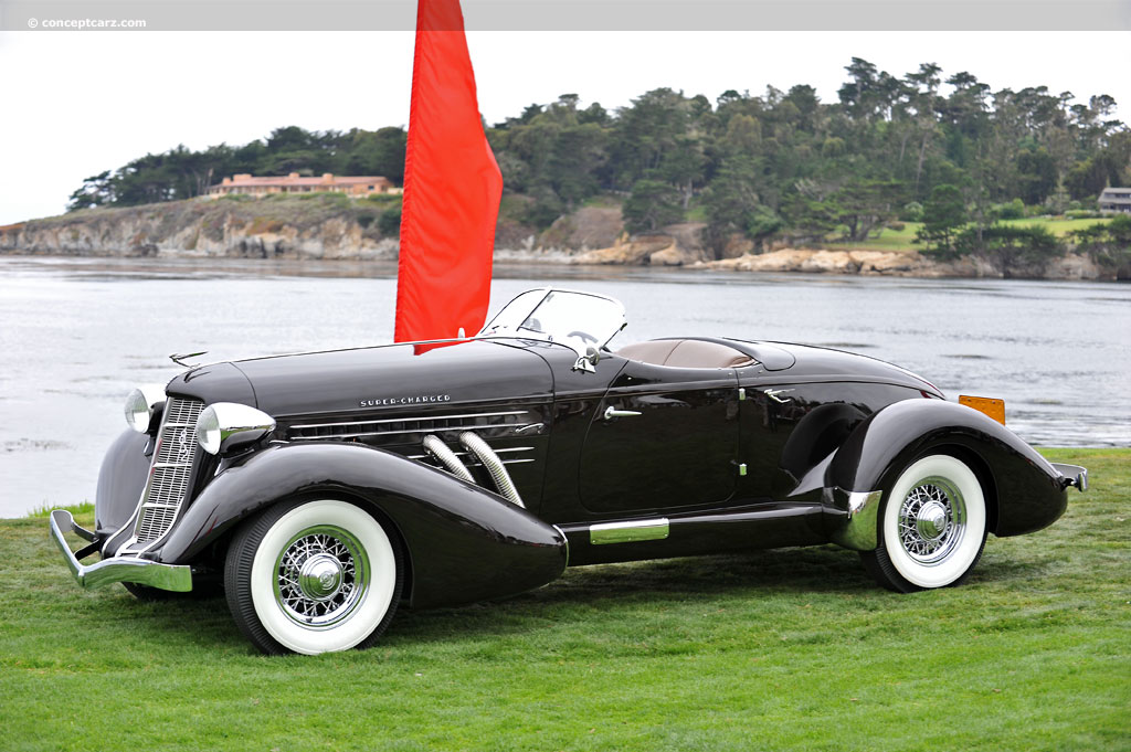1936 Auburn 852 Pictures, History, Value, Research, News