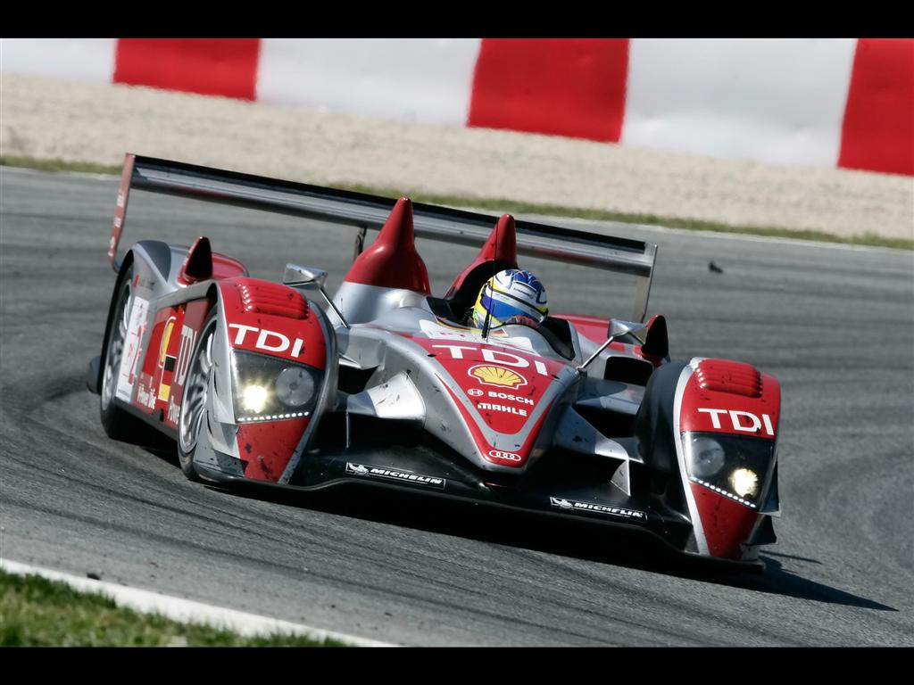 Audi r10 tdi race car 06
