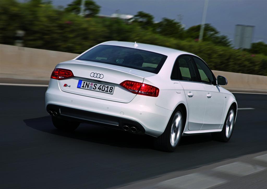 2010 Audi S4 Options