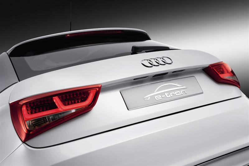 2010 Audi A1 e-tron