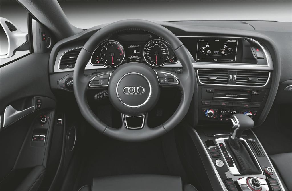2012 audi a5 for Interior design concept package
