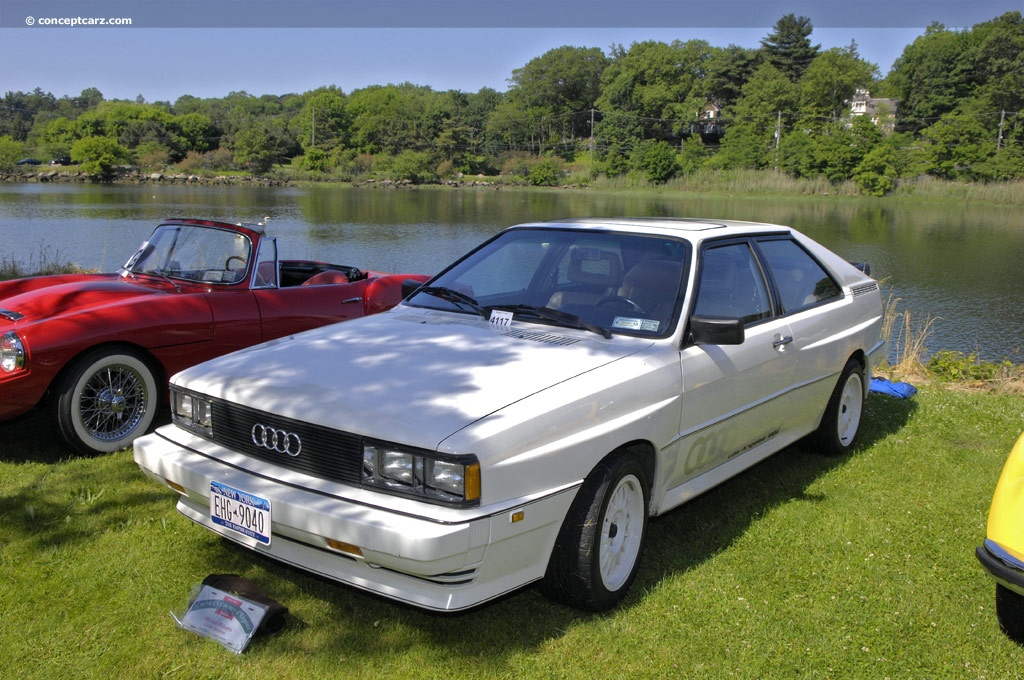 1984 audi quattro pictures history value research news. Black Bedroom Furniture Sets. Home Design Ideas
