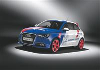 2012 Audi A1 SAMURAI BLUE image.