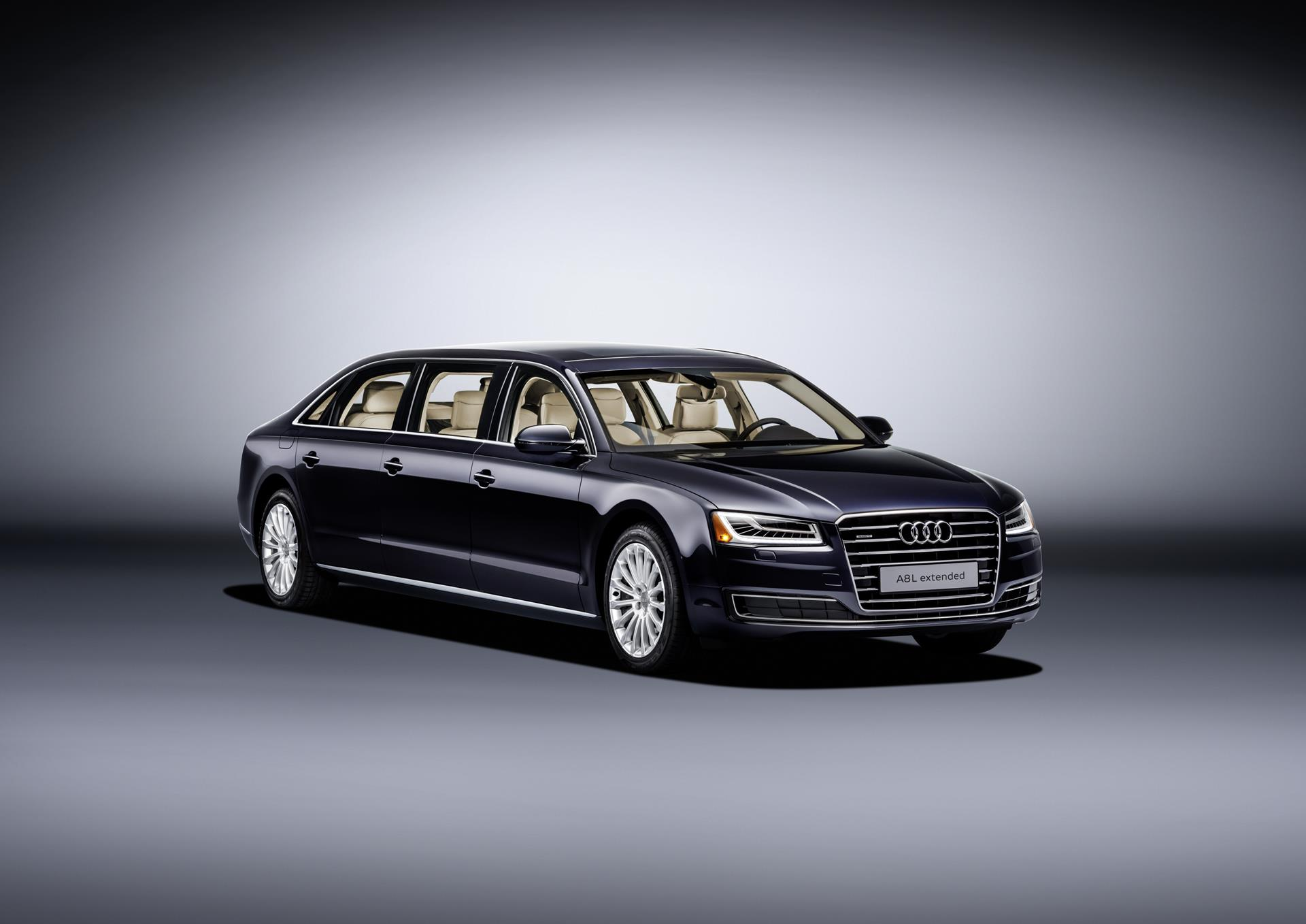 Audi A8 L Extended pictures and wallpaper