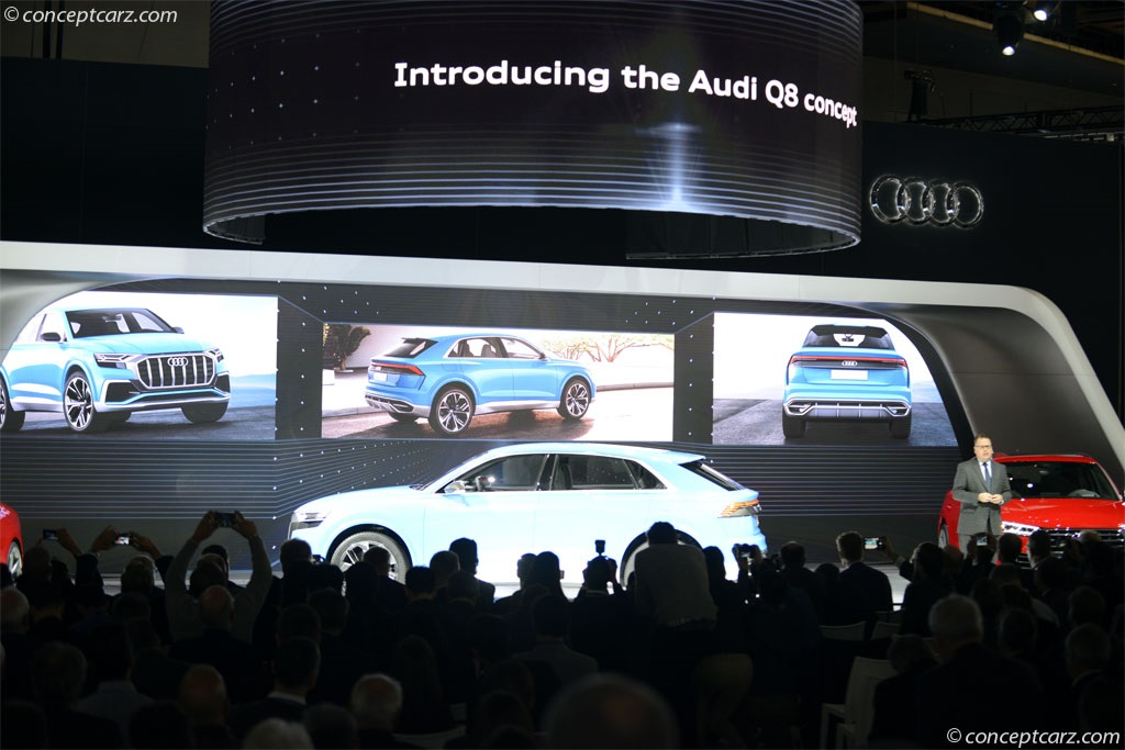 2018 Audi Q8 Concept Image