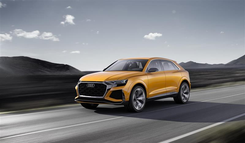 2018 Audi Q8 Sport Concept Image
