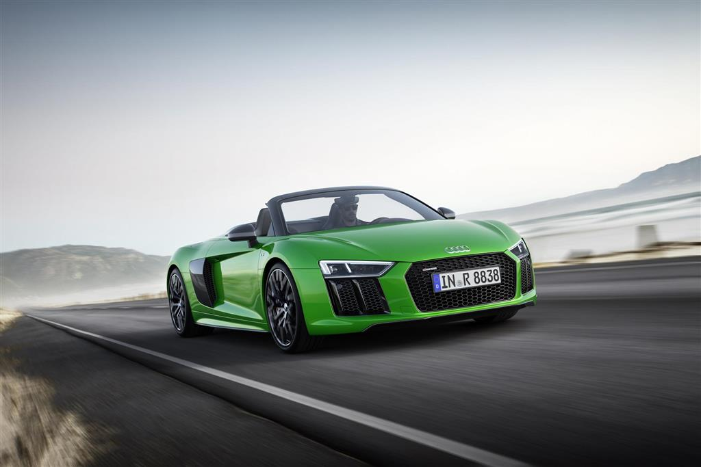Audi R8 Spyder V10 Plus pictures and wallpaper