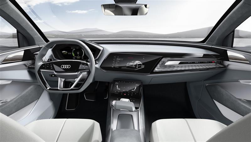2017 Audi e-tron Sportback Concept Image