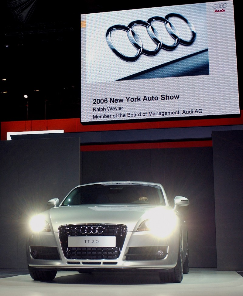 2007 Audi TT Concept