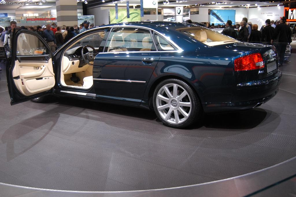 auction results and data for 2004 audi a8. Black Bedroom Furniture Sets. Home Design Ideas
