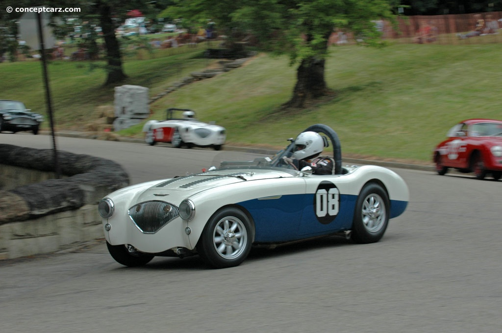 1955 austin healey 100m at the pittsburgh vintage grand prix. Black Bedroom Furniture Sets. Home Design Ideas