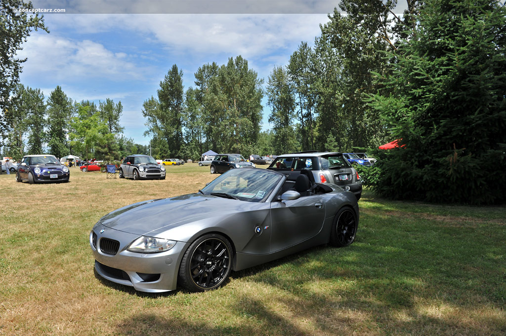2008 Bmw Z4 M Silver 200 Interior And Exterior Images