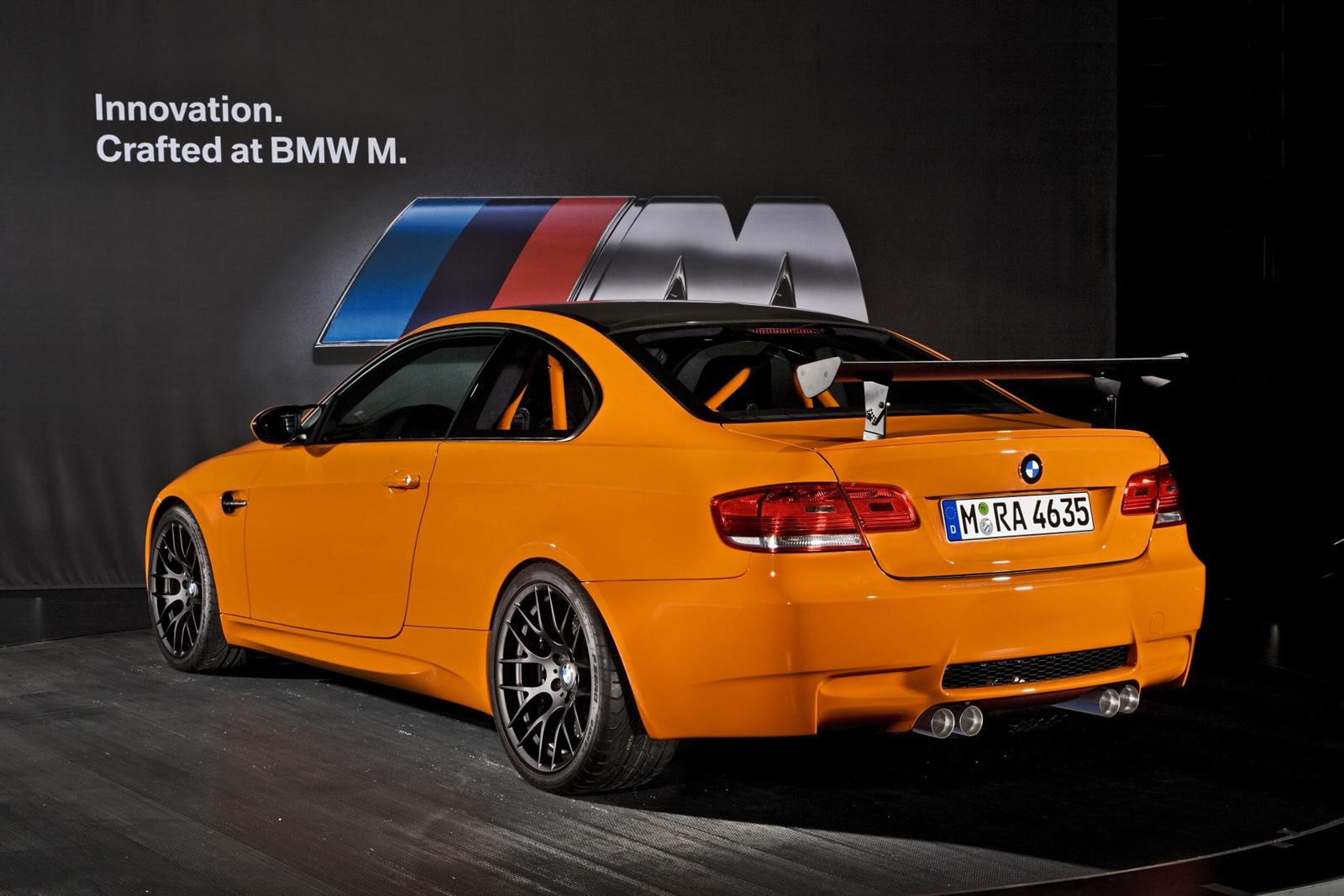 2010 BMW M3 GTS Image