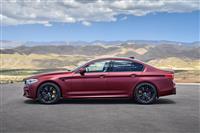 2018 BMW M5 image.
