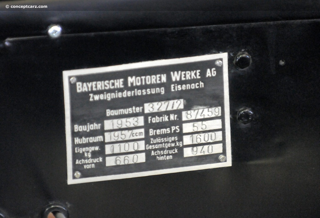 1953 BMW Type 327/2 Image