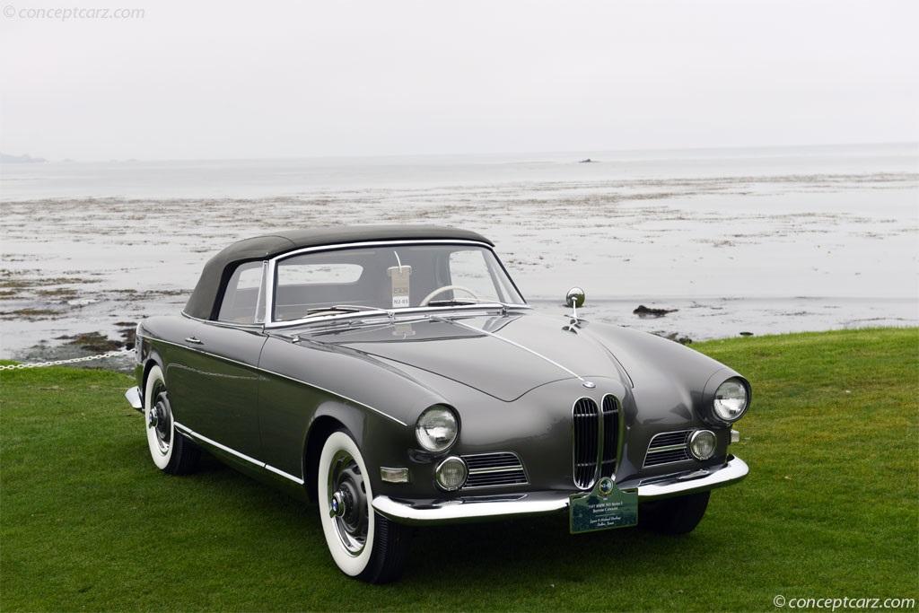 1957 Bmw 503 Conceptcarz Com